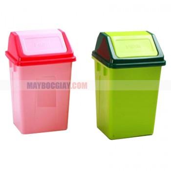 thùng rác nhựa lắp bập bênh