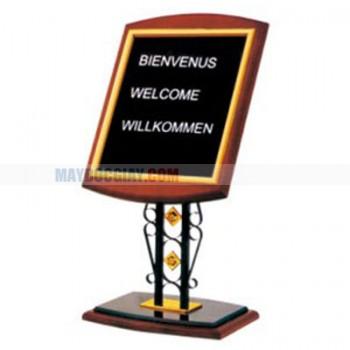 Bảng welcome cao cấp dành cho khách sạn