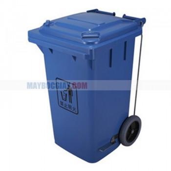 Thùng rác nhựa có 2 bánh xe