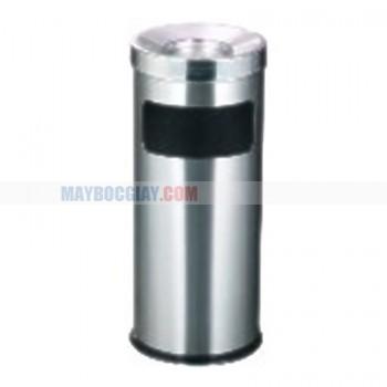 thùng rác inox chất liệu inox