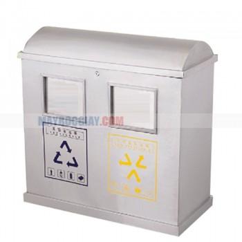 bán thùng rác đôi phân loại rác hữu cơ và vô cơ