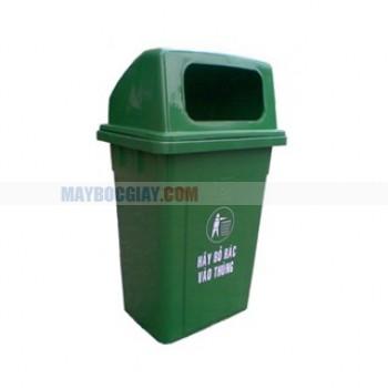 thùng rác nhựa công cộng