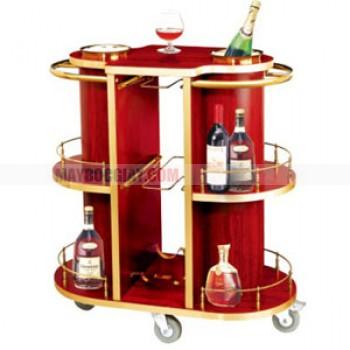 xe phục vụ rượu cao cấp dành cho khách sạn