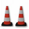 Cọc tiêu giao thông đế đen  PC37