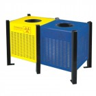 bán thùng rác phân loại rác hữu cơ và rác vô cơ