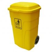 Thùng gom rác 240L có 2 bánh xe