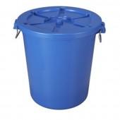 thùng rác nhựa đế tròn có lắp đậy