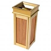 Thùng rác inox mạ vàng dành cho khách sạn